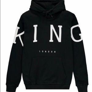 KING LONDON NWT Layton LOGO HOODIE Jacket Medium